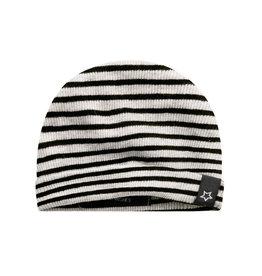 Your Wishes Beige - Stripes | Newborn Hat Chalk