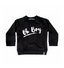 Your Wishes Oh Boy | Sweater Black