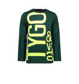 Tygo & vito T&v longsleeve LOGO 370 forrest green