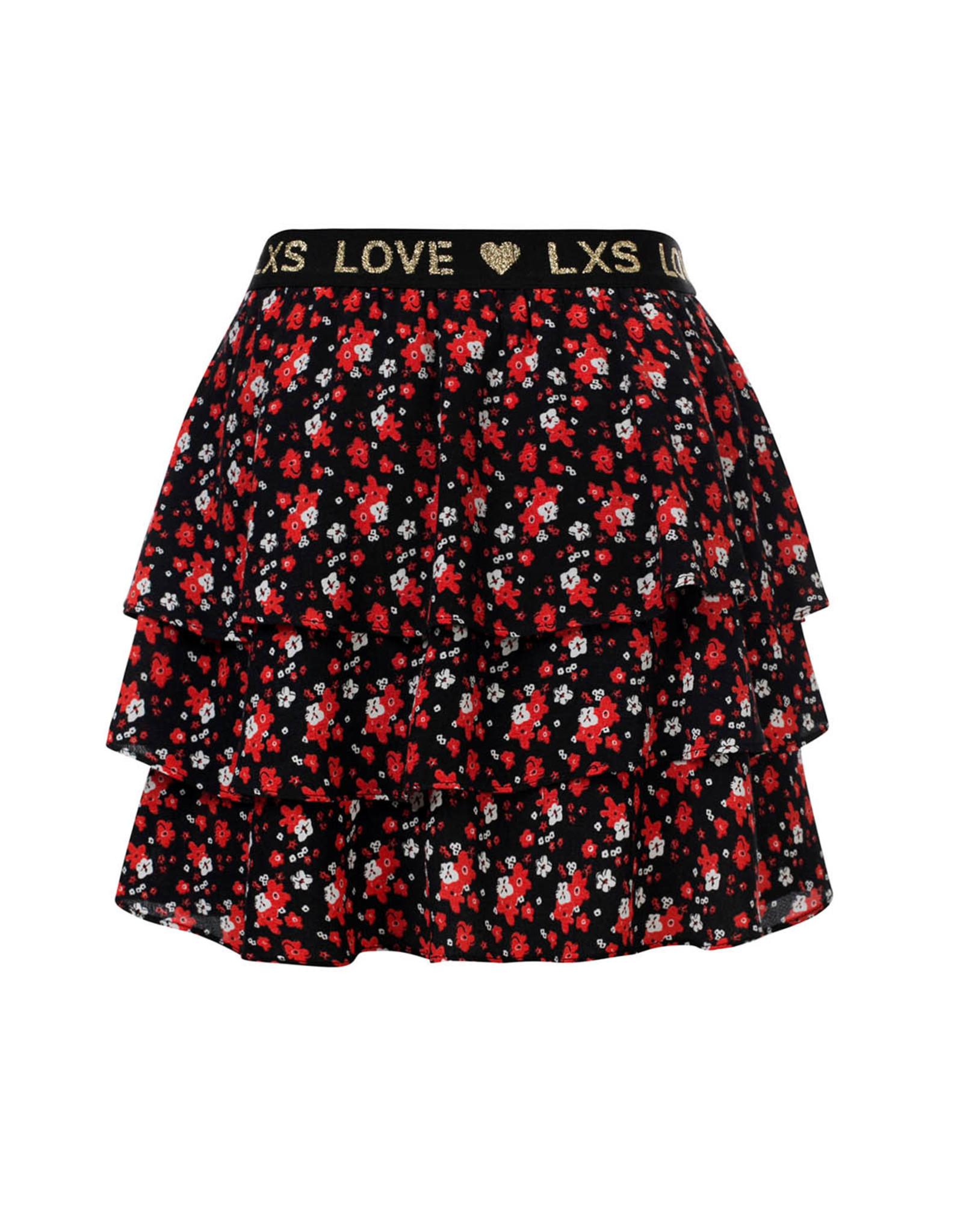 Looxs Little skirt bloem