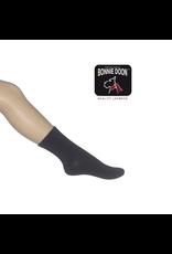 Bonnie Doon Coton Sock Navy