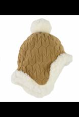 Lodger Hatter Babymuts Empire Fleece 627 Dark Honey