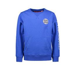Tygo & vito T&v sweater pocket & badge 150 cobalt