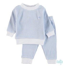 Feetje Pyjama wafel 077 blue NOS