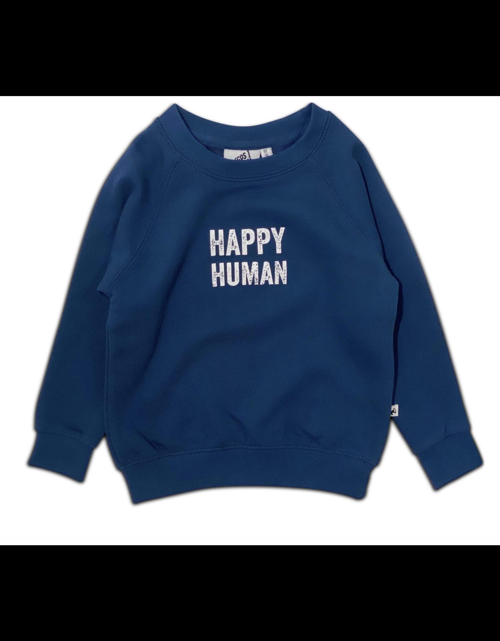 COS I SAID SO Happy human sweater Gibraltar Sea