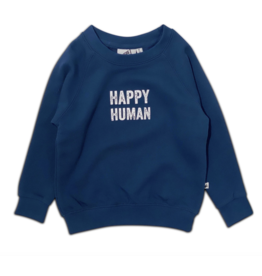 COS I SAID SO Happy human sweater Gibraltar Sea