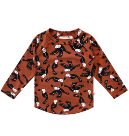 Your Wishes Toucans | Raglan Longsleeve Potters Clay