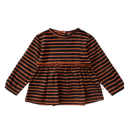 Your Wishes Stripes | Pleated Top