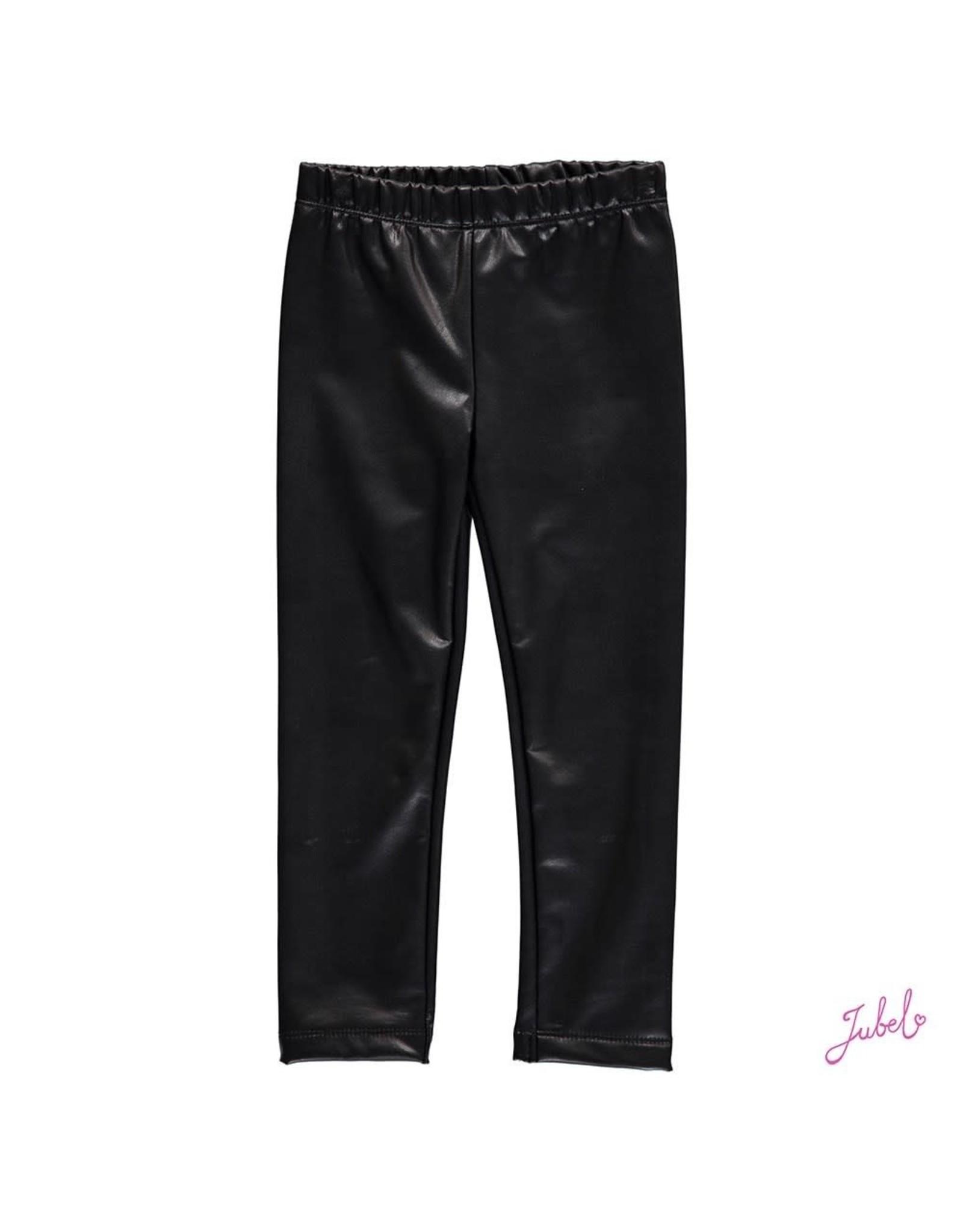 Jubel Legging lederlook 700 zwart