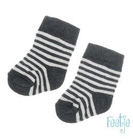 Feetje Sok - Mini Person Antracite