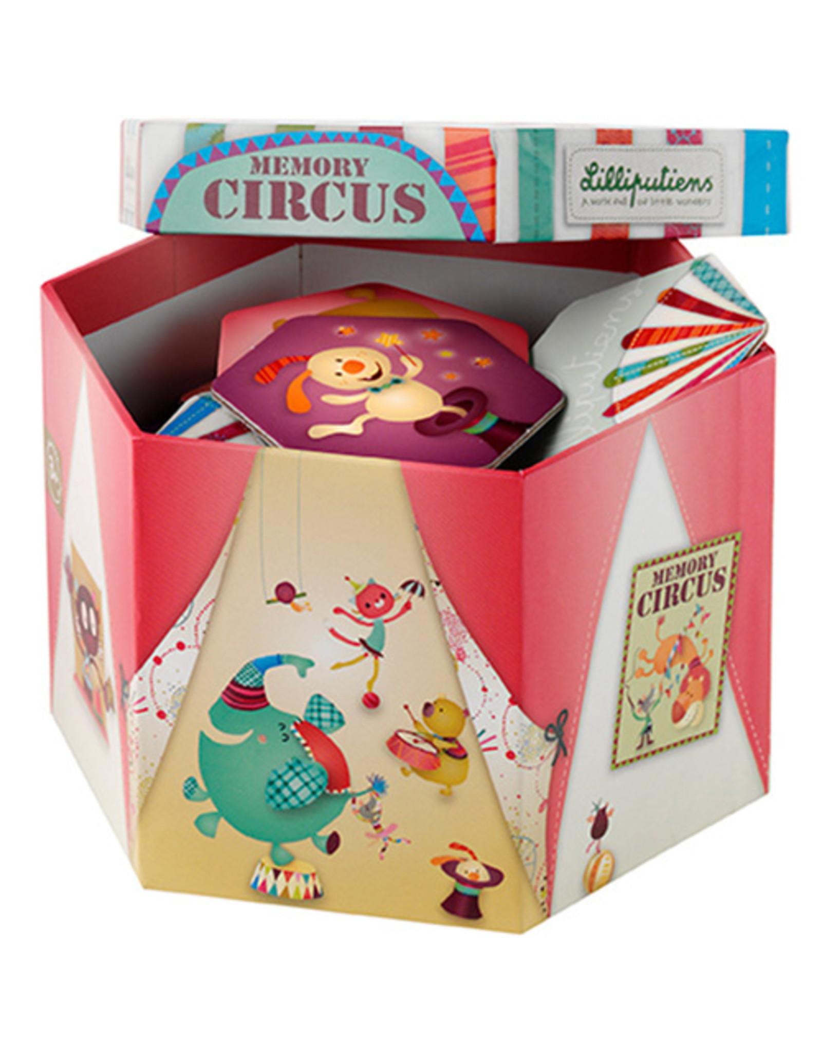 Lilliputiens Ik word groot Memo Circus