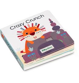 Lilliputiens Voelboek met geluid Crazy Crunch