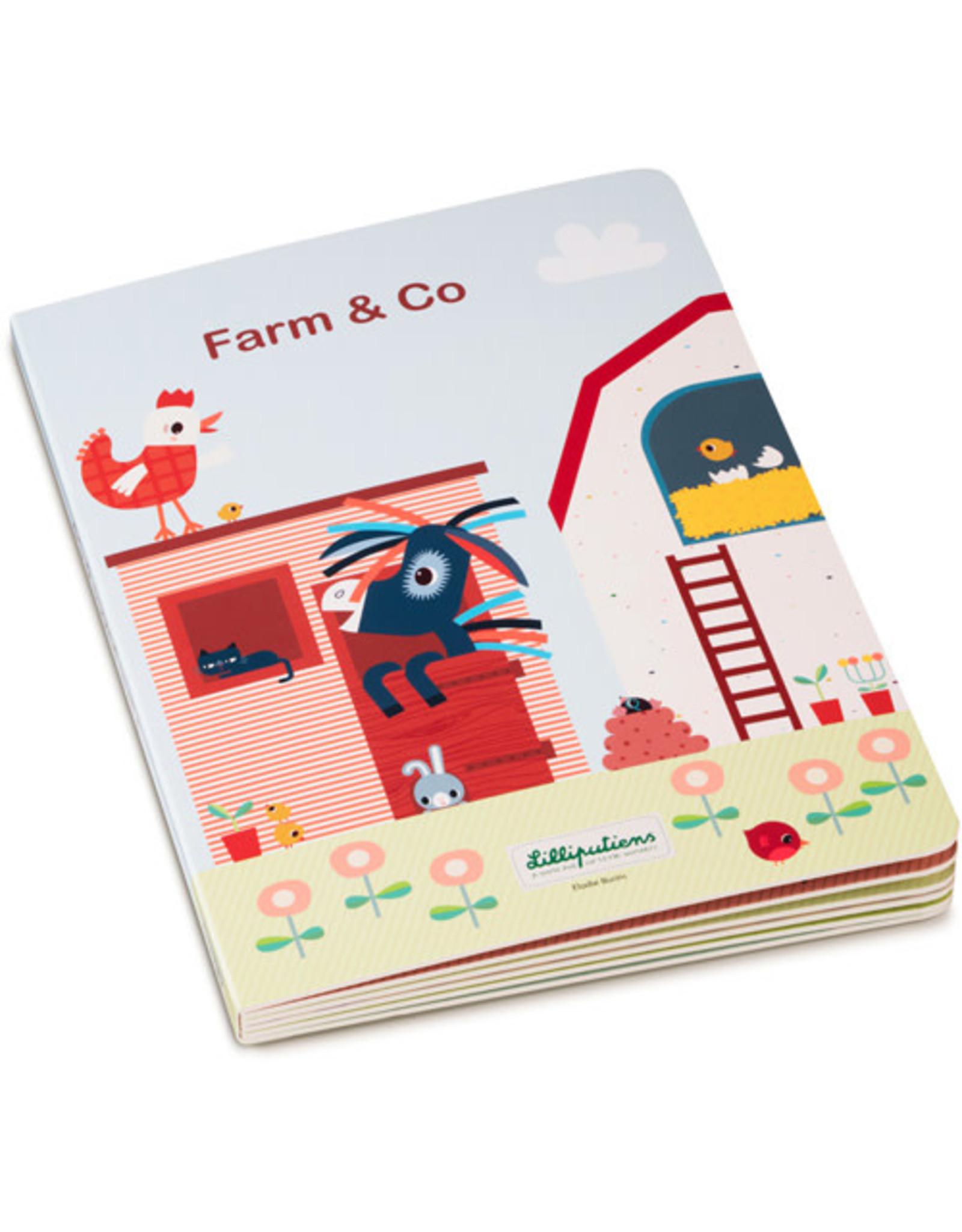 Lilliputiens FARM & CO - Mijn eerste puzzelboek