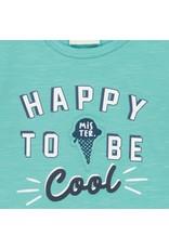 Feetje Longsleeve Happy - Team Icecream Mint melange