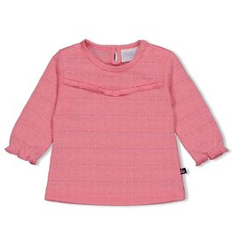Feetje Longsleeve AOP - Seaside Kisses Roze