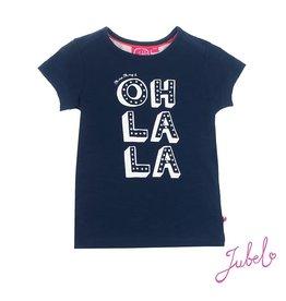Jubel T-shirt k/m Oh la la Sea View Marine
