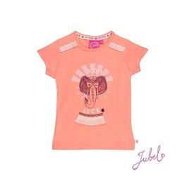 Jubel T-shirt Lady Luck - Stargazer Koraal