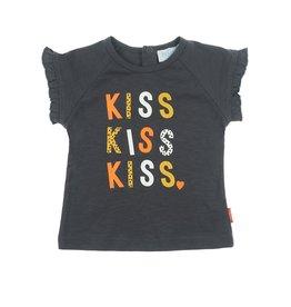 Feetje T-shirt Kiss Kiss - Kiss Antraciet