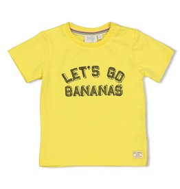 Feetje T-shirt Let's Go - Playground Geel