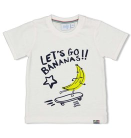 Feetje T-shirt Let's Go - Playground Wit