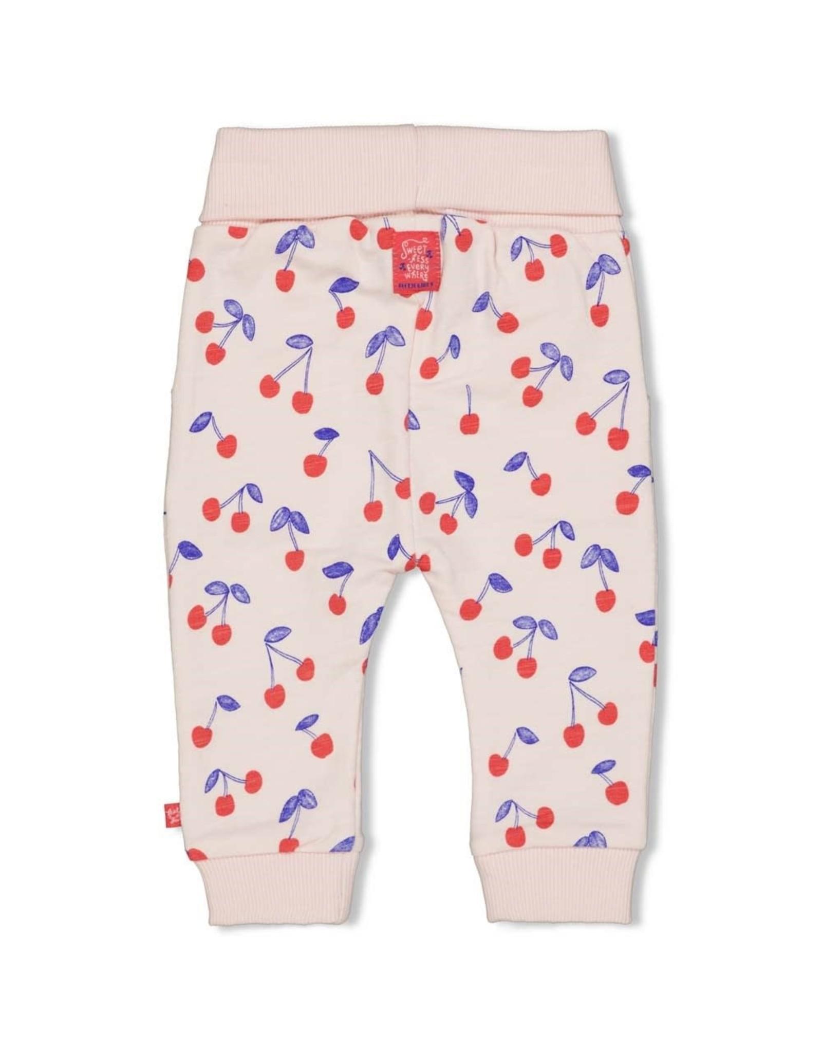 Feetje Legging AOP - Cherry Sweetness Roze