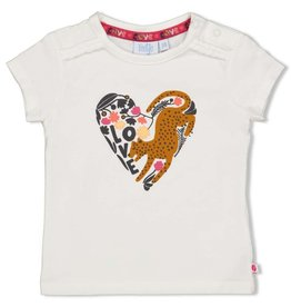 Feetje T-shirt - Whoopsie Daisy Offwhite