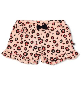 Feetje Short AOP - Leopard Love Roze