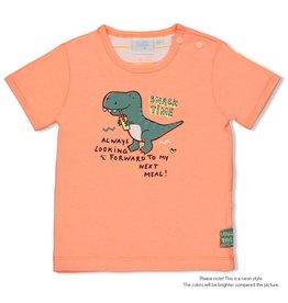 Feetje T-shirt - Snacktime Neon Oranje