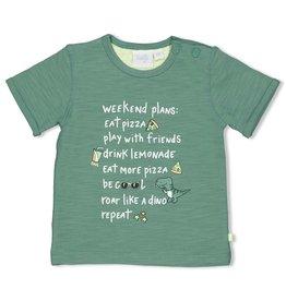 Feetje T-shirt Weekend Plans - Snacktime Groen