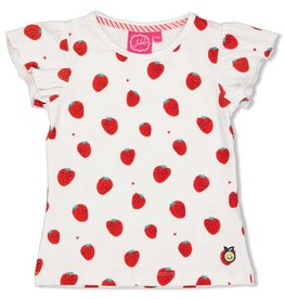 Jubel T-shirt AOP - Tutti Frutti Wit