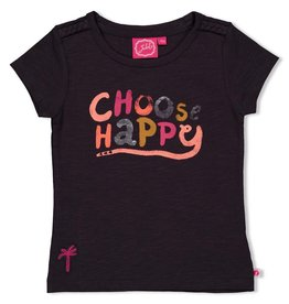 Jubel T-shirt - Whoopsie Daisy Antraciet