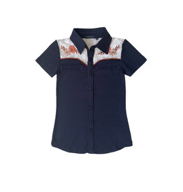 Topitm Derby blouse Dark Blue