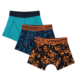 Vingino B 211-2 Jungle 3-Pack 199 Multicolor Blue