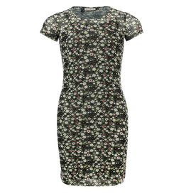 Looxs 10Sixteen Printed mesh dress FORREST BLOSSOM