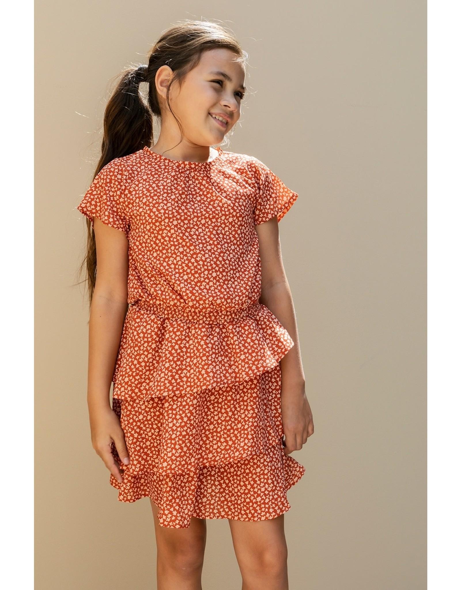 Looxs 10Sixteen printed dress TERRA