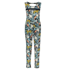 Like Flo Flo girls AO viscose jersey jumpsuit long 945 Leaf