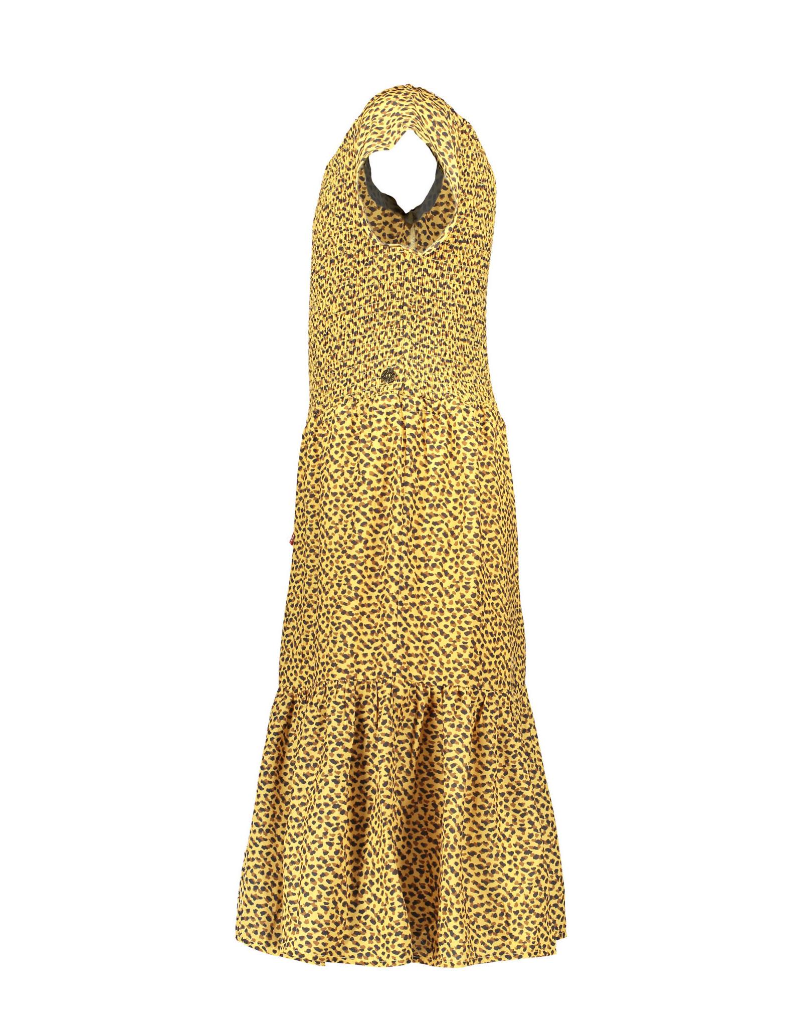 Like Flo Flo girls AO woven smock maxi dress 911 Panther