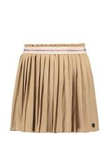 Like Flo Flo girls suede plisse skirt 415 Mud