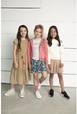Like Flo Flo girls AO leaf woven ruffle skirt 945 Leaf