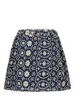 Like Flo Flo girls broidery anglais skirt 190 Navy