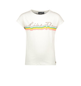 Like Flo Flo girls jersey tee LIKE FLO 001 Off white