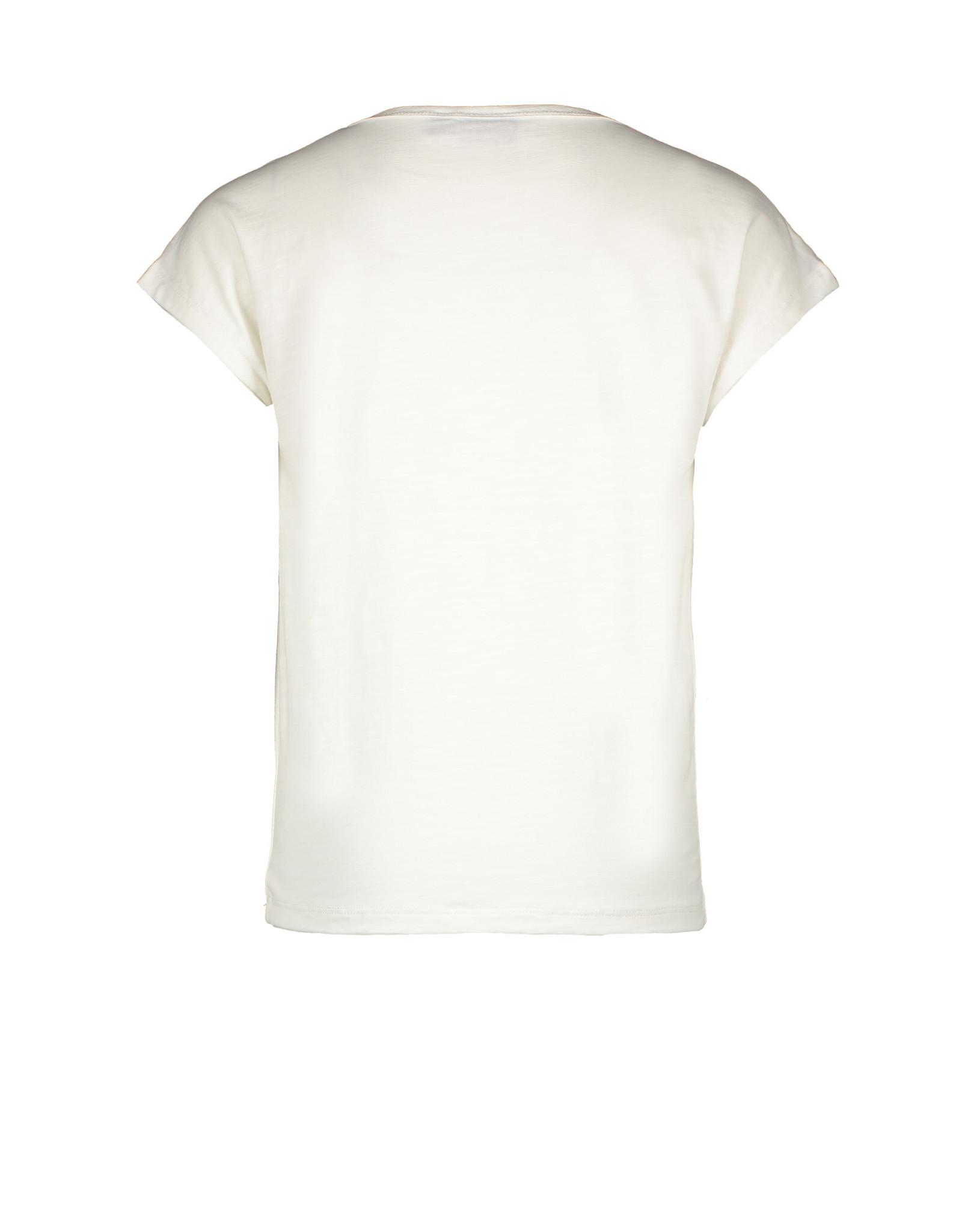 Like Flo Flo girls jersey tee LIKE FLO 001 Off white