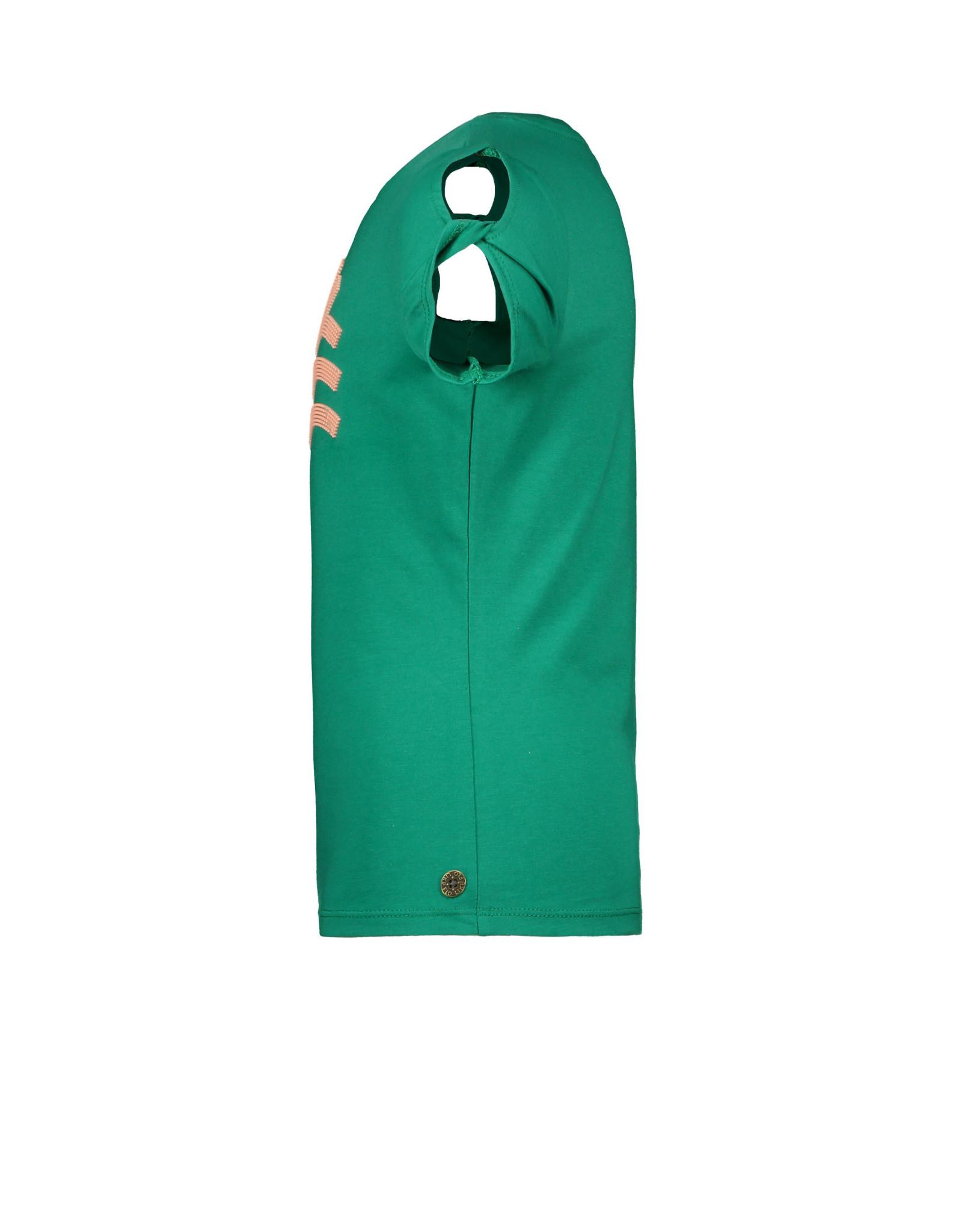 Like Flo Flo girls tee open shoulder roll divers 300 Green