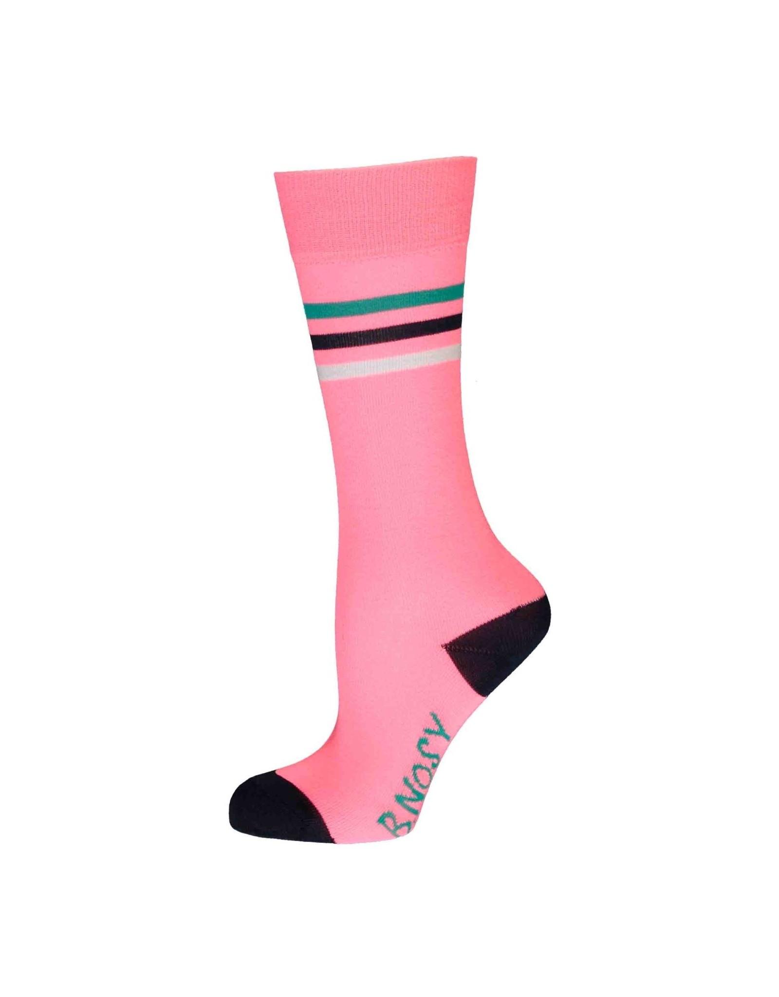 B-nosy Girls festival pink socks 290 Festival pink
