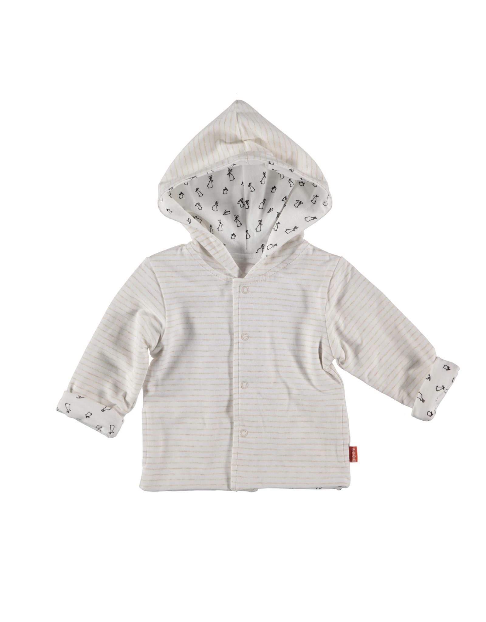 BESS Cardigan Reversible White