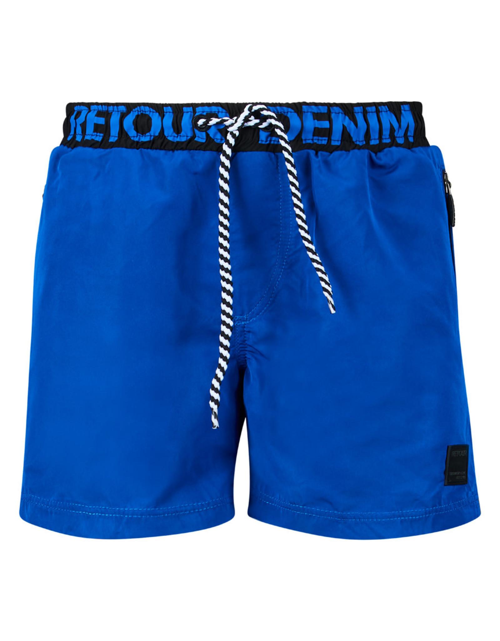 Retour Rider 5069 mid blue zwemshort
