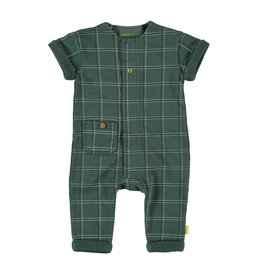 BESS Suit sh.sl. Check Green
