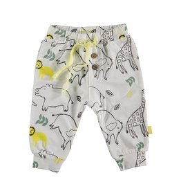 BESS Pants AOP Animals Dessin