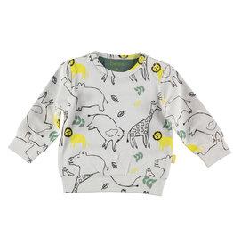 BESS Sweater AOP Animals Dessin