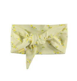 BESS Headband AOP Lemons Yellow